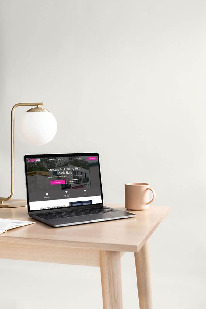 Perkins Hire StoryBrand Website Example