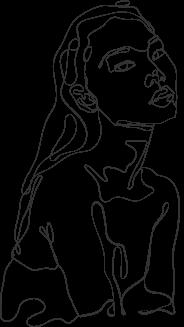 Woman Line Art