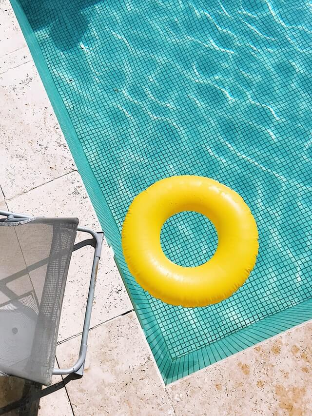 Pool Covers And Rollers Accent Image